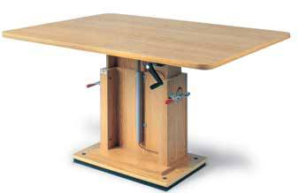 Rehabilitation Crank Hydraulic Work Table
