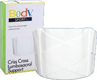 Criss Cross Lumbosacral Support  - 9 in.