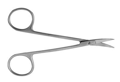 4.5in Curved La Grange Scissors