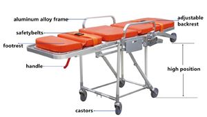 MS3C-1000 EMS Series Ambulance Stretcher