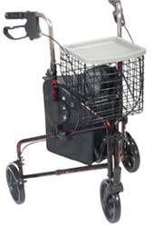 Deluxe 3-Wheel Rollator