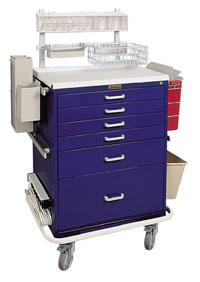Deluxe Anesthesia Cart