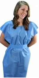 Deluxe Disposable Patient Gowns