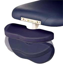 Deluxe Hanging Armrest for Stationary Massage Tables