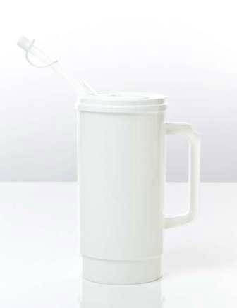 Insulated Thermal Carafes - White