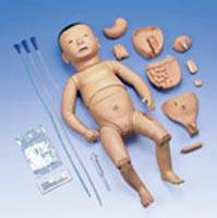 Deluxe Nurse Training Baby Model Japanese Facial Features