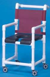 Deluxe Open Front Shower Chair