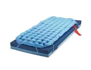 Deluxe Overlay Static Air Mattress