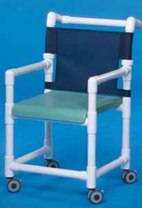 Deluxe Shower Chair w/ Solid Seat