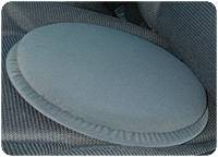 Deluxe Swivel Seat - Gray
