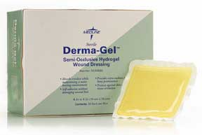 Derma-Gel Hydrogel Wound Dressing