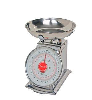 Dial Scale with Bowl 11 lb. Capacity