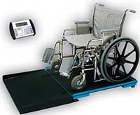 Digital Bariatric Wheelchair Scale w/ Oversized Platform