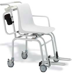 Digital Chair Scale w/ 4 Wheels