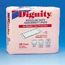Dignity Regular Absorbent Single Pads