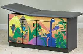 Dino Days Pediatric Exam Table