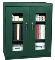 Display Counter Height Cabinet w/ Adj. Shelves