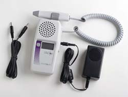 Display-Handheld Ultrasound Doppler Recharger and Audio