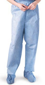 Disposable Elastic Waist Medical Scrub Pants
