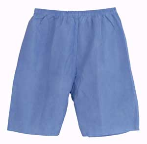 Disposable Exam Shorts Large
