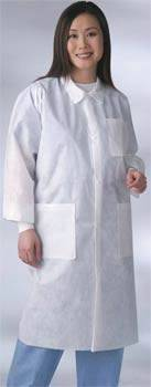 Unisex Disposable Lab Coats, Blue