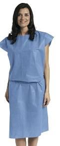 Disposable Patient Gowns, Regular-Large Size
