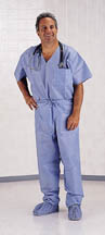 Disposable Scrub Top