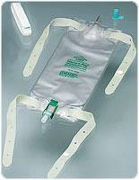 Leg Bag with Flip-Flo Valve