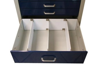 Divider System for 6in Drawers