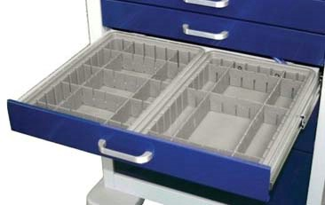 Divider Tray and Dividers for 6in Drawers