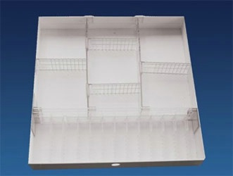 Divider Tray for 3in Slim Drawer with Ampule Holders