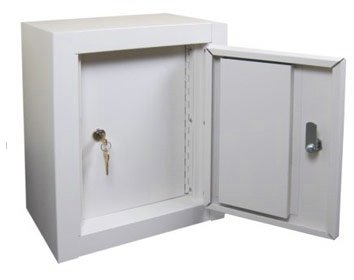 Double Door Small Narcotics Cabinet With Double Key
