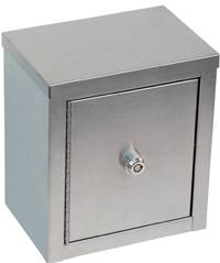 Double Door Narcotic Cabinet w/ 3-Bolt Wafer Lock