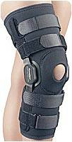 Double-Hinged Non-Adjustable Knee Brace