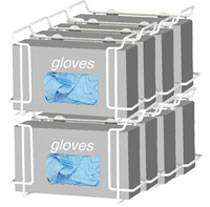Double Wire Glove Box Dispenser - 4 Pack