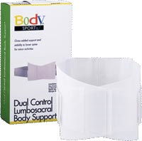 Dual Control Lumbosacral Body Support - Small