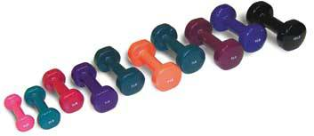 Set of 10 Dumbbells