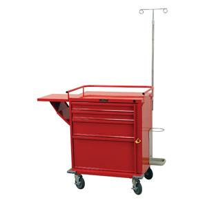 4-Drawer Emergency Cart Specialty Package