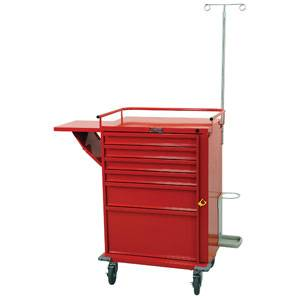 6 Drawer Emergency Cart Specialty Package