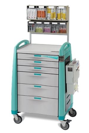 Anesthesia Cart Auto Lock