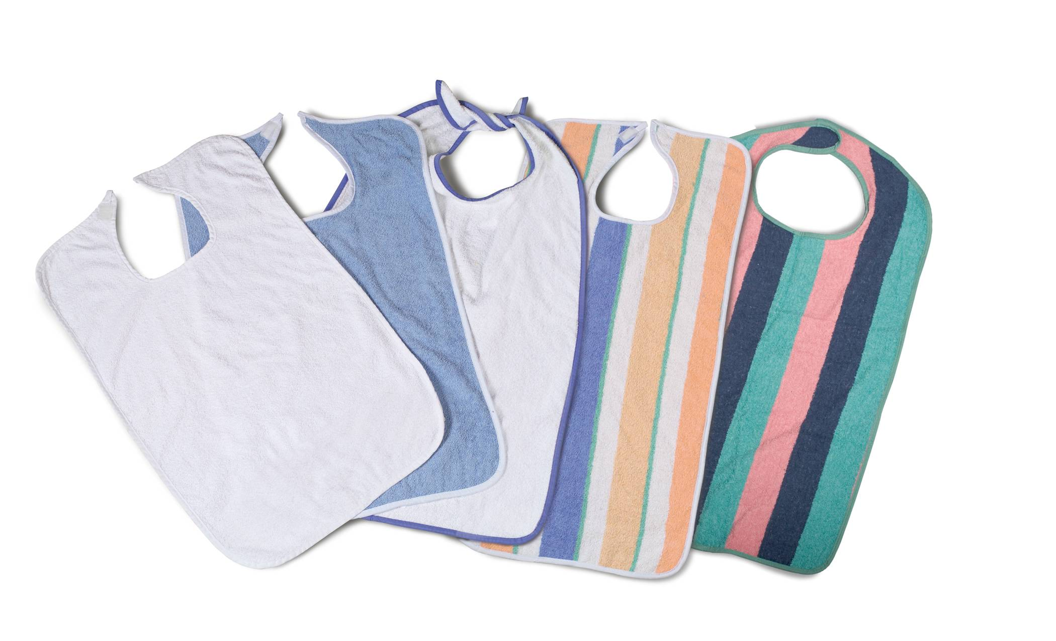 EZ Tie Terry Cloth Bibs