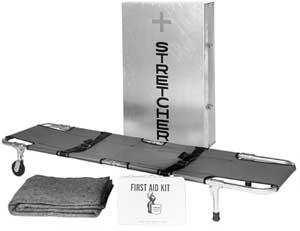 Easy Fold Aluminum Stretcher Storage Case