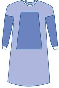 Eclipse Fabric-Reinforced Surgical Gowns X-Large 47in