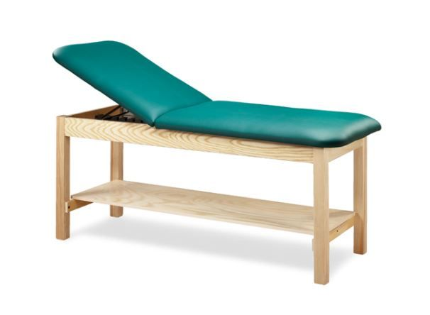 Eco-Friendly Exam Table w/ Shelf 30in