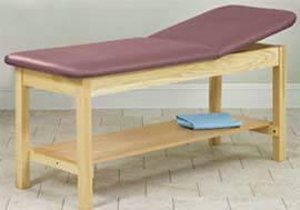 Eco-Friendly Exam Table w/ Shelf