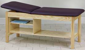Eco-Friendly Treatment Table w/ Shelving