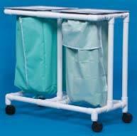 Large Capacity Mobile Double Linen Hamper