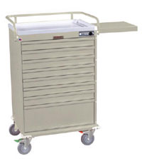 Medication Box Cart w/ Mechanical Combination Lock