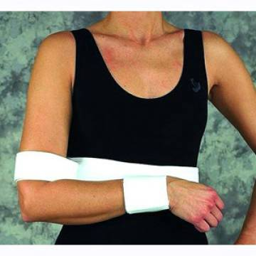 Large, Female Elastic Shoulder Immobilizer