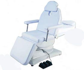 Electric Dental Exam Chair with Headrest & Footrest